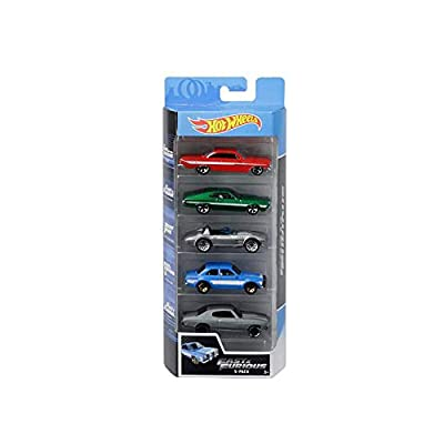 New DIECAST Toys CAR HOT Wheels 1:64 Basic - Fast & Furious 5-Pack GGH46-9993: Toys & Games