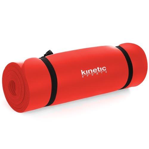 Kinetic Sport YM02 Yogamatte 180 x 60 x 1cm Rot