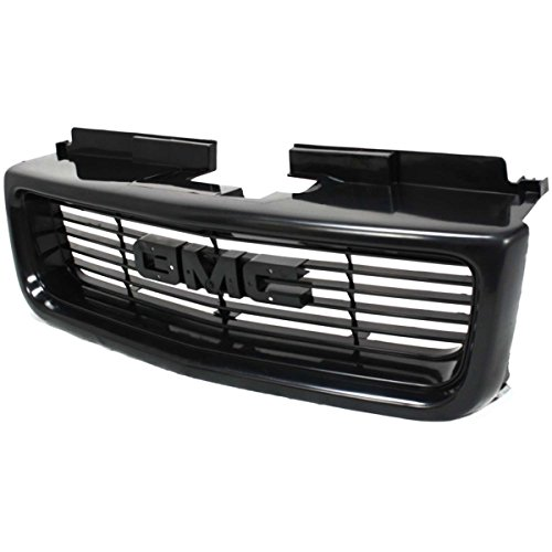 (Diften 104-C1895-X01 - New Grille Assembly Grill Black GMC Jimmy 2005 2004 2003 2002 GM1200436 12472678)