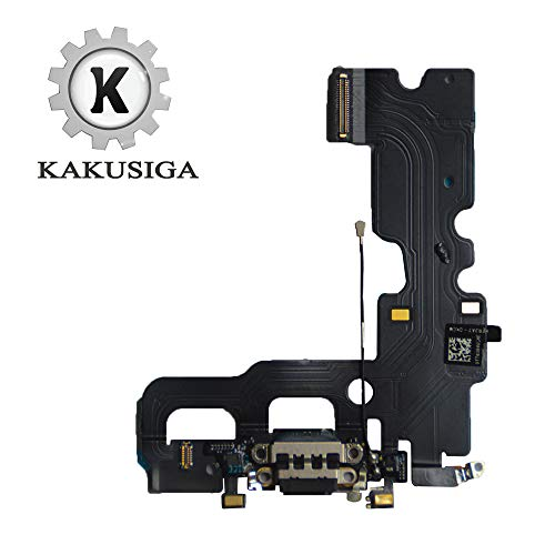 KAKUSIGA Compatible with iPhone 7 Charging Port Dock Connector Flex Cable + Microphone + Headphone Audio Jack Replacement for 7 4.7