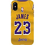 cc6db04cc Skinit NBA Los Angeles Lakers iPhone X Pro Case - LeBron James Lakers Jersey  Design -