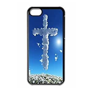 Protection Cover Hard Case Of Jesus Christ Cross Cell phone Case For Iphone 5C