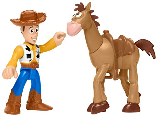 Fisher-Price Imaginext Toy Story Woody & Bullseye -