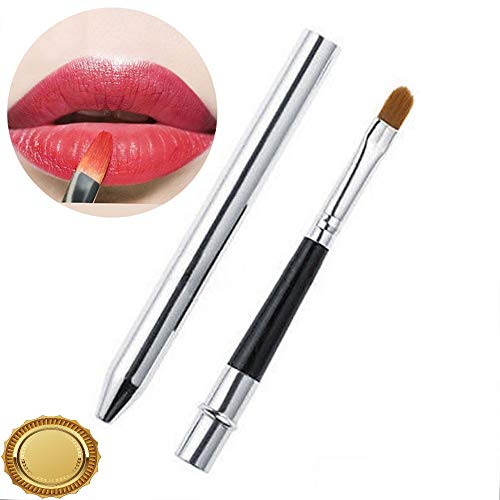 Gatton Portable Smooth Travel Retractable Lip Brush Makeup Cosmetic Lipstick Gloss ESUS | Style MKPBRUSH-21181434 ()