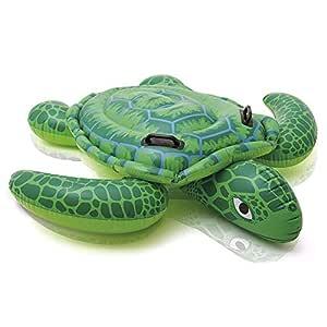 Intex 57524NP - Tortuga hinchable acuática con 2 asas 150 x 127 cm ...
