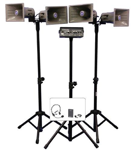 Wireless Quad Horn Hailer Kit, 50W