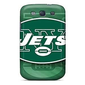 AlissaDubois Samsung Galaxy S3 Scratch Resistant Hard Phone Covers Provide Private Custom High-definition New York Jets Series [Hfu2792vaVR]