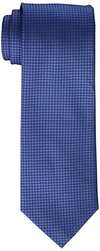 Calvin Klein Men's Hc Modern Gingham Tie, Sky Blue, Regular