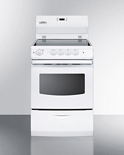 20 Inch Electric Range - Summit FBA_REX242W Pearl 24
