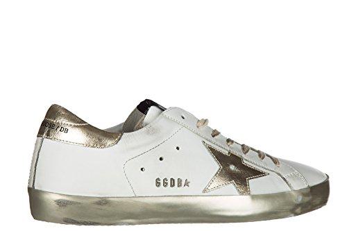 Salida 2018 Más Nuevo Golden Goose scarpe sneakers uomo in pelle nuove superstar bianco Envío Libre Para Barato Cuánto Precio Barato mGg3LdR