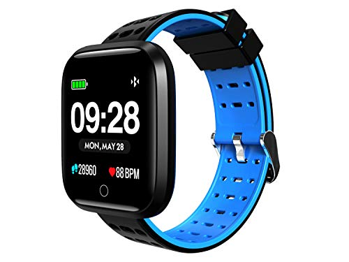 SUNNZO Bluetooth Smart Watch,Widely Compatible and Seamlessly Sync with Android & iOS,Multiple Sports Modes& Data Tracking,HD Display,Message Notification,Heart Rate Monitoring,Sleep Monitoring - Watch Inch 1.33 Phone