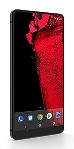 Essential Phone 128 GB Unlocked with Full Display, Dual Camera – Black Moon