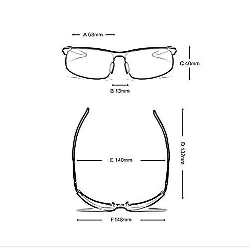 100 et Homme Lunettes Alliage Haute Goggle ZHRUIY UV Sports Femme TR Couleurs 054 26g Protection A4 Loisirs Qualité De Alliage 9 et Soleil Cadre d'aluminium qdd64H