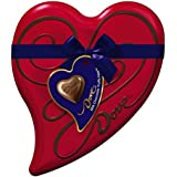 DOVE Valentine Milk Chocolate Truffles Heart Tin 6.5-Ounce Tin