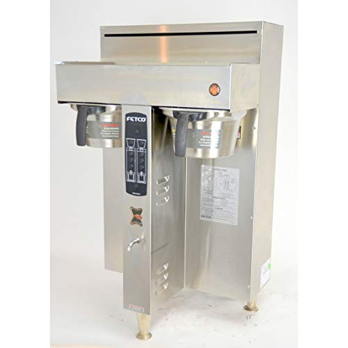 Fetco CBS-2052e Extractor Twin Dual Automatic Coffee Brewer 208-240V 25.8A ()