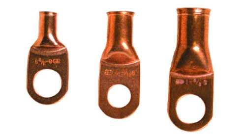 Install Bay Copper Ring Terminal 4 Gauge #38 25 Pack - CUR438