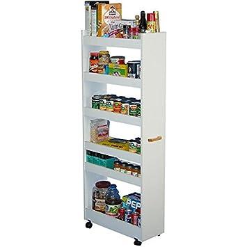 venture horizon thin man pantry cabinet white