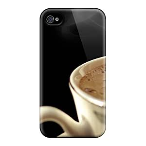 Excellent Iphone 6 Cases Covers Back Skin Protector Food And Drink Hotcoffee