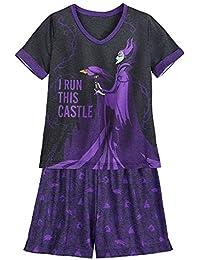 Disney Tinkerbell Rosetta Children Kids Girls Dress Pajama Skirt 3-10 Yrs Purple