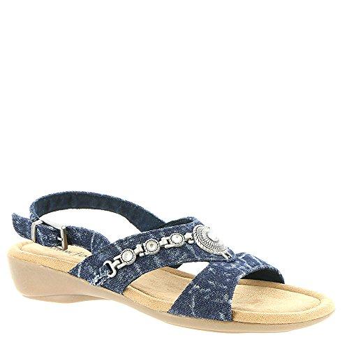(Minnetonka Selene Women's Sandal 8 2A(N) US Acid-Denim )