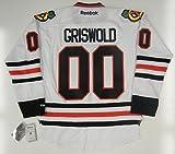 Clark Griswold Chicago Blackhawks Reebok Premier Jersey