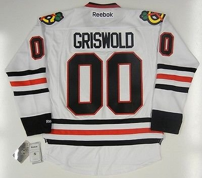 090c156f8 Image Unavailable. Image not available for. Color  Clark Griswold Chicago  Blackhawks Reebok Premier Jersey