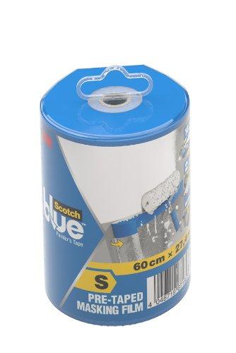 ScotchBlue 2090 Film Prenastrato in Dispenser, Trasparente, S 3M 2090FDS