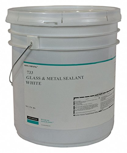 White Sealant, Silicone, 624.3 oz. by DOW CORNING
