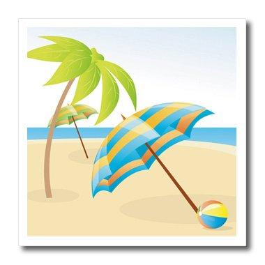 3drose Ht 180647 3 Imagen De Dibujos Animados Playa Paraguas