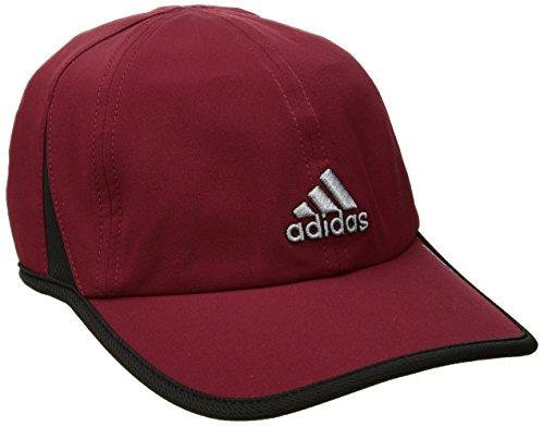 adidas Men's Adizero II Cap, Collegiate Burgundy/Black/Grey, One (Grey And Burgundy)