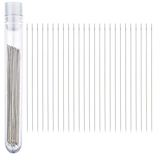 Beading Needles (Size 12) 25pc with Needle Storage Tube ()