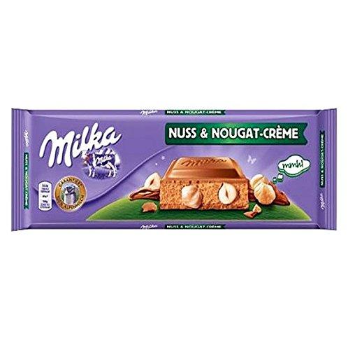 Milka Nuss & Nougat Creme Large Chocolate - 300 G