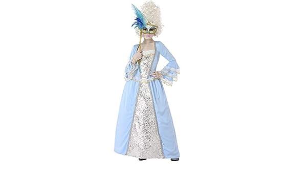 Atosa Disfraz de Veneciana Época Azul para niña 10 a 12 años ...