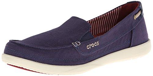 b1784725b3a crocs Women s Walu Canvas Loafer
