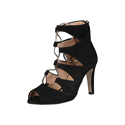 V 1969 - ESTELLE_NERO Sandalias De Vestir Para Mujer Tacón: 9.5 cm
