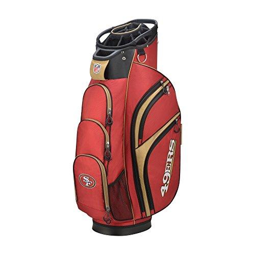 (Wilson 2018 NFL Golf Cart Bag, San Francisco 49ers)