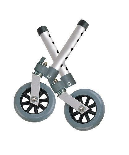 Drive Medical Swivel Lock 5' Walker Wheels