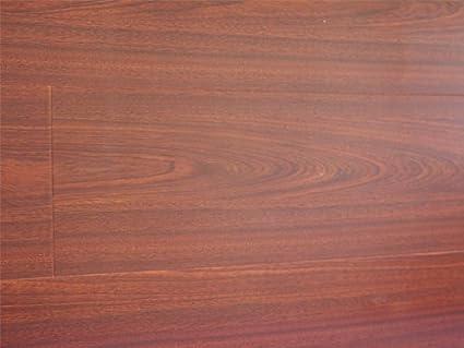 123 Mm Durique Piano Finish Laminate Diamond Walnut Flooring 8