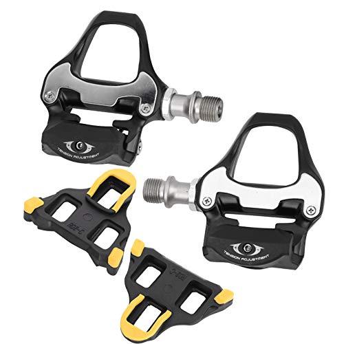 Demeras Fiets Vervanging Schoenplaatjes Anti-Skid Fiets Pedaal Adapter Fietsen Racefiets Fiets Zelfsluitende Pedalen…