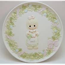 Precious Moments Cane You Join Us For A Merry Christmas Plate 1997 by Precious Moments