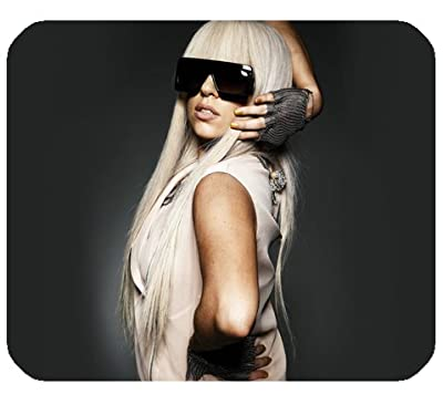 "Lady Gaga Mousepad Personalized Custom Mouse Pad Oblong Shaped In 9.84""X7.87"" Gaming Mouse Pad/Mat"