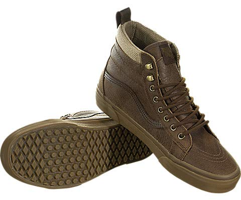 a24d266b15e584 Vans Mens SK8 HI MTE Leather Brown Herringbone Size 8.5 available in ...