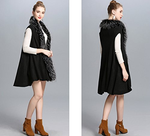 Mode Et Tricot Femmes Wanyang Hiver Tendance Châle La Automne Longue Manteau Oversize Gilet Noir En De xz4YP4qw