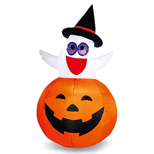 Joiedomi Halloween Inflatable Blow Up Ghost in Pumpkin for Halloween Outdoor Yard Decoration (4.5 -