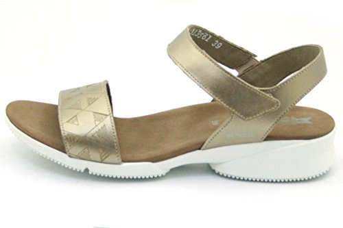 Donna Platino Fabie Velcro Mephisto Con Sandali wxEPxq6