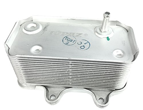 TOPAZ 99610702507 Heat Exchanger Engine Oil Cooler for 1997-2008 Porsche Boxster