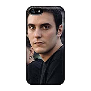MansourMurray Iphone 5/5s Bumper Cell-phone Hard Cover Support Personal Customs Realistic Breaking Benjamin Pattern [nxm7389eOFx]