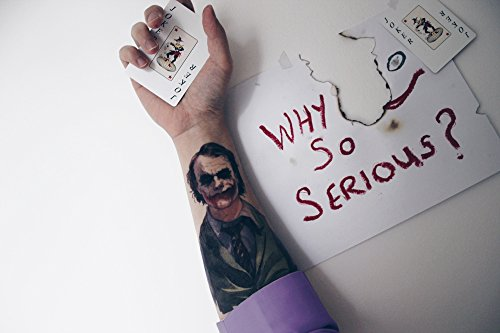 Amazon Com Novoskins Tattoo Artist Temporary Tattoo Hand