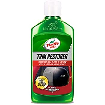 Turtle wax t 125 premium grade trim restorer Black interior car trim restorer