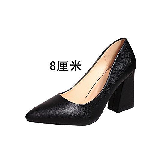 FLYRCX Professionelle Schuhgröße von scharfen, flachen Ferse Schuhe im Herbst und Winter  33-41 B07P7JQN3P Tanzschuhe Jahresendverkauf